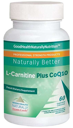 L-Carnitine and CoQ10 – burn fat