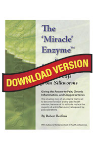 The Miracle Enzyme is Serrapeptase – eBook PDF