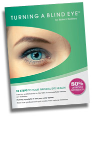 Turning a Blind Eye – health book
