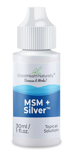 MSM+Silver Water Drops for Eyes and Ears