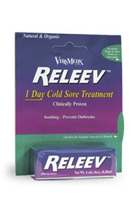 Releev™ – Topical Relief From the Symptoms of Cold Sores
