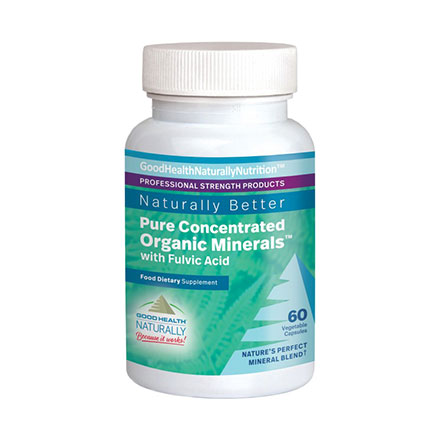 Pure Concentrated Organic Minerals™ Capsules with Fulvic Acid