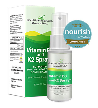 Vitamin D-3 and K-2 Sublingual Spray™ 30ml