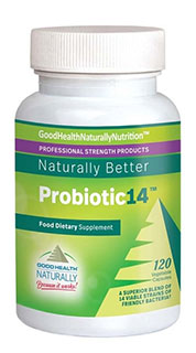 Probiotic14™ – Friendly Bacteria For Healthy Digestion
