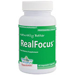 RealFocus - Unique Formulation to Support Normal Cognitive Function - Ashwagandha Extract