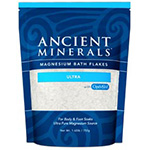Professional Strength Ancient Minerals Magnesium Bath Flakes Ultra – Single Use – 1.65 lbs