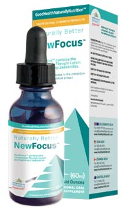 NewFocus™ – Sublingual Lutein & Zeaxanthin For Eye Health