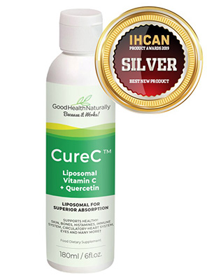 CureC™ – Liposomal Vitamin C with Quercetin