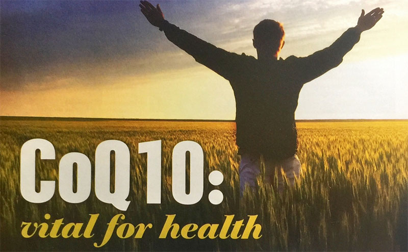 CoQ10 vital for health