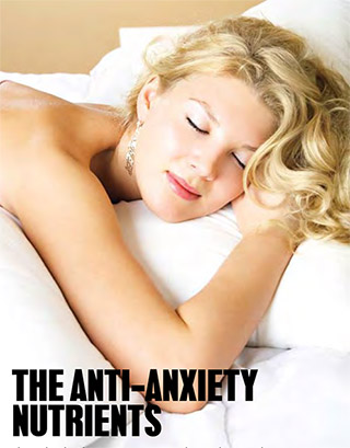 The Anti Anxiety Nutrients